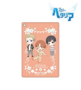 Pass case | Anime Hetalia - The World Twinkle | Anime Merchandise Monday (5-12 August) by MANGA.TOKYO ©2015 日丸屋秀和・幻冬舎コミックス/ヘタリア製作委員会