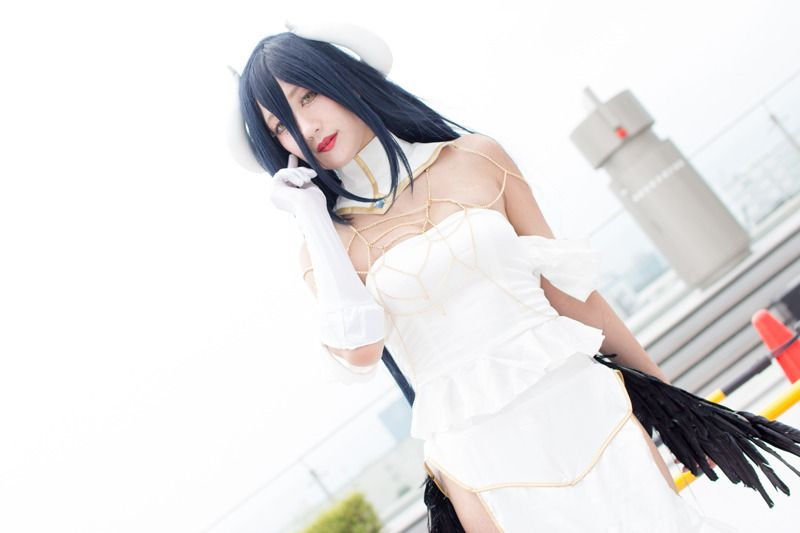 Mikazuki Koori (@Mikazuki_Koori) as Albedo from Overlord/Photo: 乃木章 | Comiket 94: Beautiful Female Cosplayers from Day 3