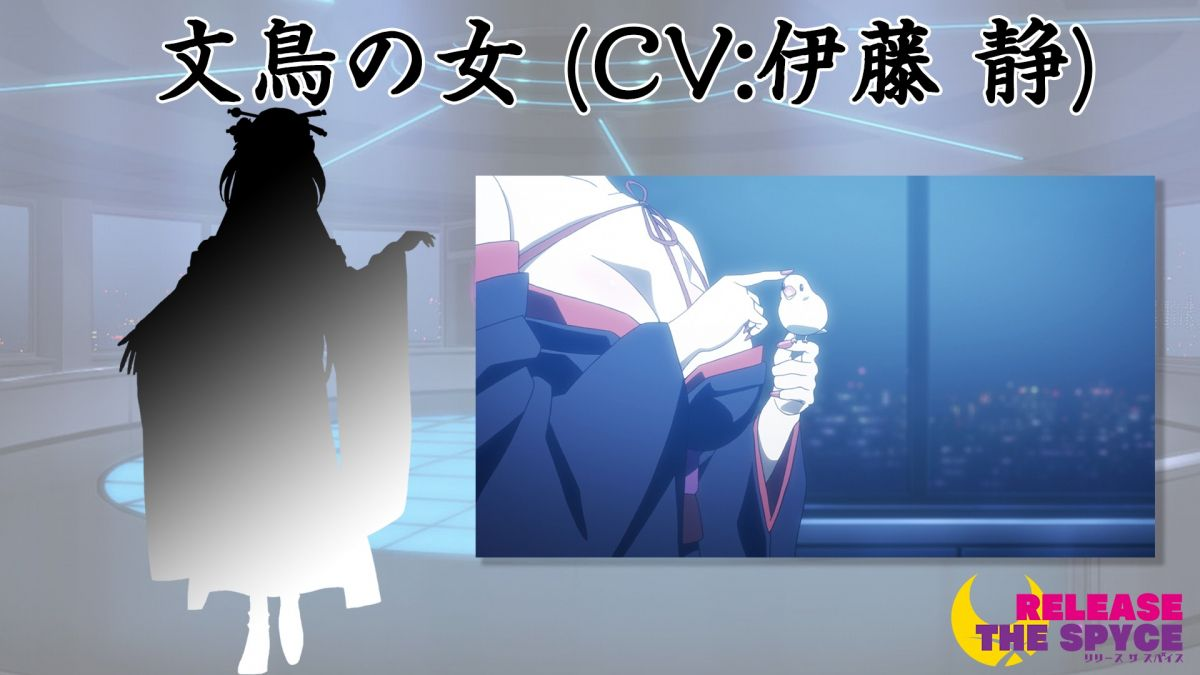 Mysterious Character from Anime Release the Spyce