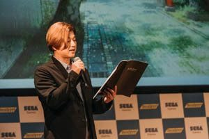Masaya Matsukase at the event for Readyyy!, Smartphone Game by Sega