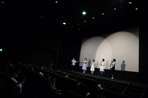 From the Non Non Biyori Vacation Premiere Screening | Anime Movie