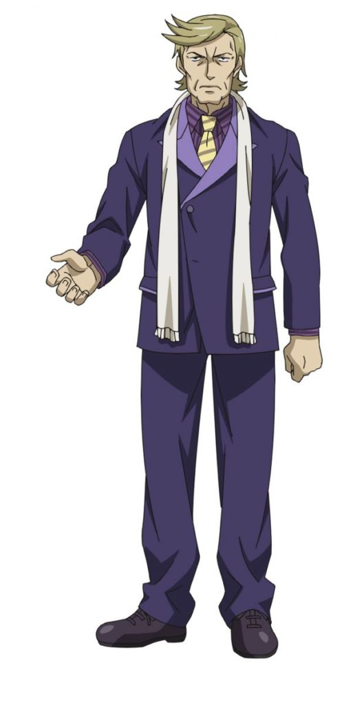 Hans Andrei (Voiced by Minoru Inaba) from Fall 2018 anime RErideD - Derrida