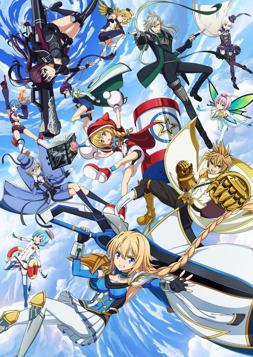 Han-Gyaku-Sei Million Arthur Anime Visual