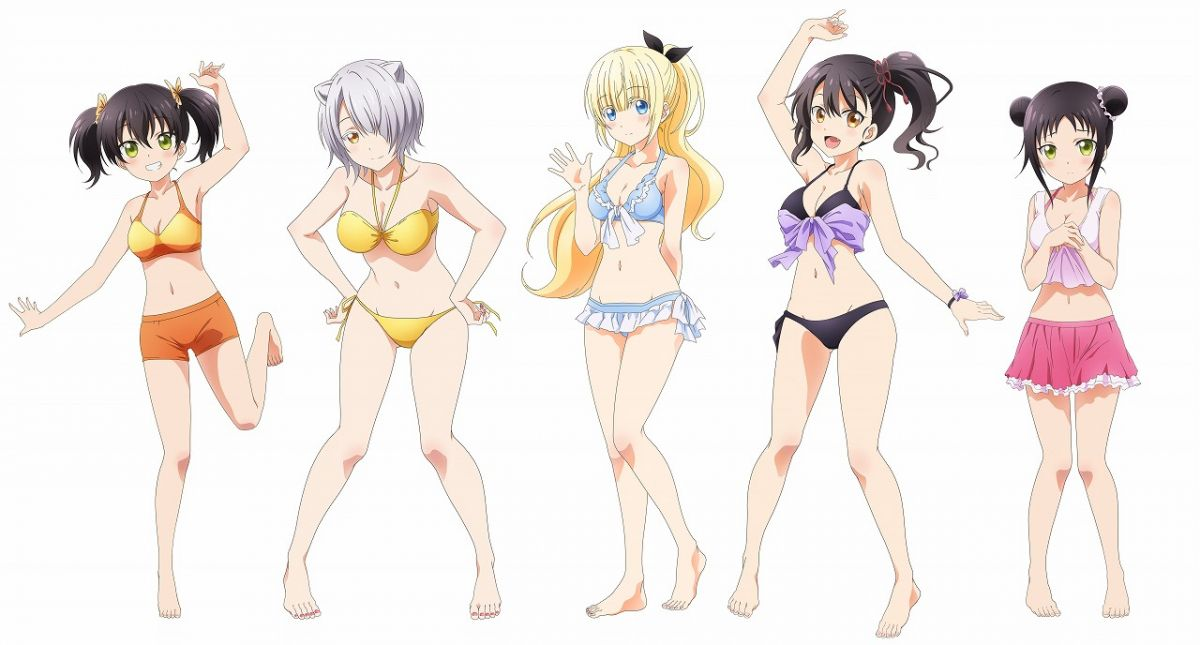 Boarding School Juliet (Kishuku Gakko no Juliet) Anime Official Visual | Female Characters in Bikini