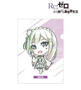 Clear Files and Pens | Anime Re:Zero Starting Life in Another World | Anime Merchandise Monday (10-16 September) | MANGA.TOKYO © 長月達平・株式会社KADOKAWA刊/Re:ゼロから始める異世界生活製作委員会