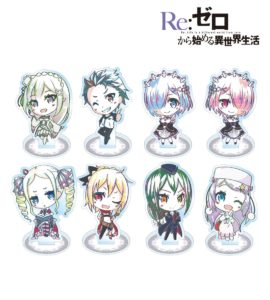 Acrylic Stand | Anime Re:Zero Starting Life in Another World | Anime Merchandise Monday (10-16 September) | MANGA.TOKYO© 長月達平・株式会社KADOKAWA刊/Re:ゼロから始める異世界生活製作委員会