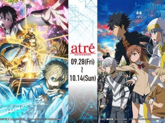 Sword Art Online Alicization Announces Collaboration with A Certain Magical Index III