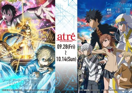 Sword Art Online Alicization and A Certain Magical Index III Anime Collaboration
