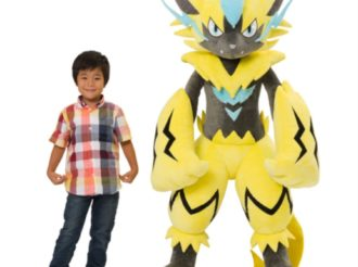 Pokémon Reveals Life-Sized Stuffed Zeraora