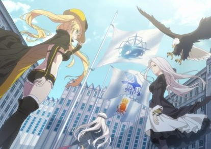 Azur Lane Anime Trailer Official Anime Trailer Screenshot