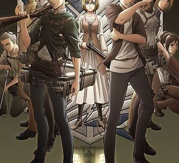 Attack on Titan Anime Visual