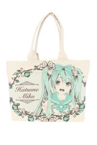 Tote Bag | Hatsune Miku | Anime Merchandise Monday (17-23 September) | MANGA.TOKYO © Crypton Future Media, INC. www.piapro.net