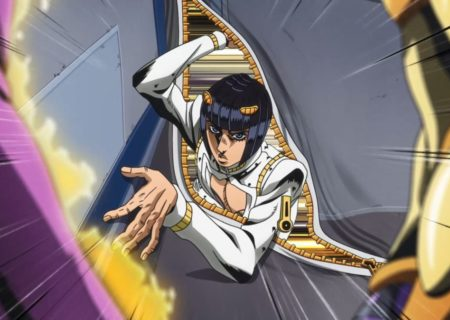 Bruno Bucciarati from anime JoJo's Bizarre Adventure Golden Wind