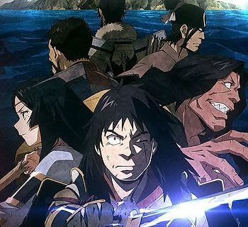 Angolmois: Record of Mongol Invasion Anime Visual