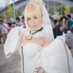 JILL @JILL_mw as Nero (bride) | FGO Cosplay from Tokyo Game Show