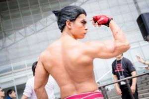 @yomimate as Kazuya Mishima from the Tekken Series | [TGS2018] Handsome Male Cosplayers from the Last Day of Tokyo Games Show