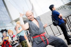 @Josuicp as Heihachi Mishima from the Tekken Series | [TGS2018] Handsome Male Cosplayers from the Last Day of Tokyo Games Show