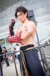 @kashimastars as Jin Kazama from the Tekken Series | [TGS2018] Handsome Male Cosplayers from the Last Day of Tokyo Games Show