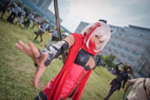Okita Soji (Alter) from Fate/Grand Order/ Comiket 94 Photo by: 寒黙 | World Cosplayers: Interview with Chinese Cosplayer Natsume