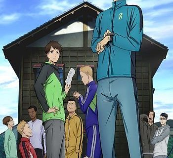 Run with the Wind Anime Visual