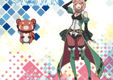 Mana (voiced by Yurin) and Arfie (voiced by Ai Kakuma) from anime Conception