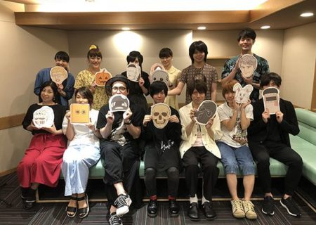 Cast of anime Skeleton Bookstore Employee Honda (Gaikotsu Shotenin Honda-san)
