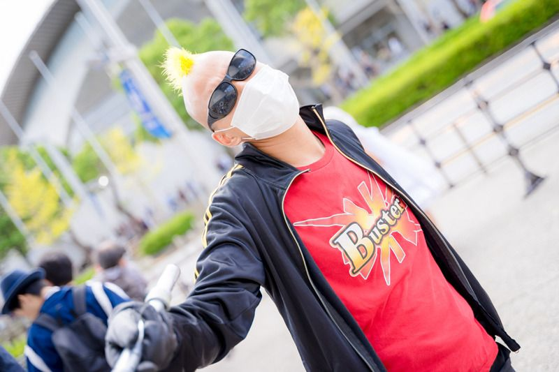 Gian @ryobon777 as Gangster of Shinjuku from Fate/Grand Order/ Photographer: @Osefly | [TGS2018] Male Cosplay Gallery from the First Day