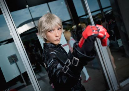 @arisuars as K' from The King of Fighters Series/ Photographer: Hanmo | [TGS2018] Male Cosplay Gallery from the First Day
