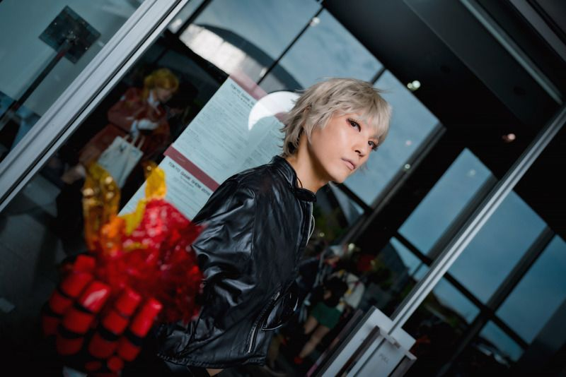 @arisuars as K' from The King of Fighters Series/ Photographer: Hanmo   [TGS2018] Male Cosplay Gallery from the First Day
