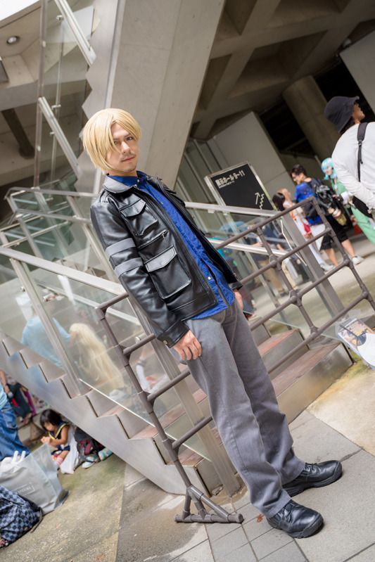 @HCLI_JPN as Leon S. Kennedy from Resident Evil/ Photographer: @Osefly   [TGS2018] Male Cosplay Gallery from the First Day