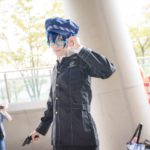 @Cha_Cofee as Naoto Shirogane from Persona 4/ Photographer: @Osefly | [TGS2018] Male Cosplay Gallery from the First Day