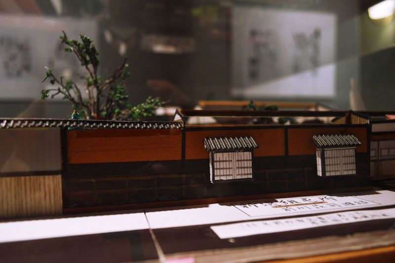 Scale Model of the Shinshengumi Headquarters | [Kyomaf 2018] Peace Maker Kurogane at Kyoto International Manga Museum Photo Report | MANGA.TOKYO