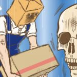 Skeleton Bookstore Employee Honda Episode 2 Official Anime Screenshot
