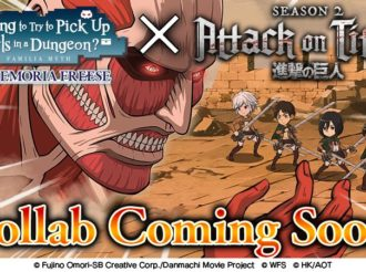 Crunchyroll Game DanMemo Collaborates with Attack on Titan