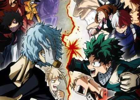 My Hero Academia Anime Series Visual