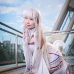 @Unimaru_03 as Emilia from Re:Zero − Starting Life in Another World/ Photographer: Hanmo | Cosplay Gallery from Cosplay-haku in TFT