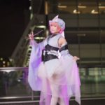Ritsu @cos39_39 as Yuyuko Saigyoji from Toho Project/ Photographer: Hanmo | Cosplay Gallery from Cosplay-haku in TFT