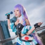 Chinami @chinami_cos01 as Mikumo Guynemer from Macross Delta/ Photographer: Hanmo | Cosplay Gallery from Cosplay-haku in TFT