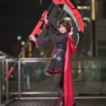 Icenyon @icenyon38 as Ruby Rose from RWBY/ Photographer: Hanmo | Cosplay Gallery from Cosplay-haku in TFT