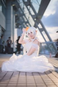 Miso Miso @rinamiso0921 as King Theresa Princess from Luigi's Mansion Series/ Photographer: Hanmo | Cosplay Gallery from Cosplay-haku in TFT
