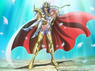 Saint Seiya: Saintia Sho Reveals Theme Song, Airdate, and New Visual of Milo Carrying Shoko