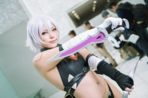 Shizuna Ariake @ace_caterpillar as Jack the Ripper from Fate/Grand Order   Cosplay Gallery from Cosplay-haku in TFT