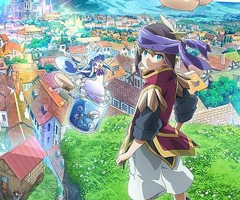 Merc Storia: The Apathetic Boy and the Girl in a Bottle Anime Visual