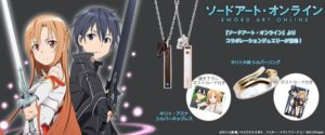 Sword Art Online x THE KISS Collaboration Jewelry