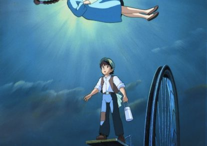 Castle in the Sky Anime Still © 1986 Studio Ghibli