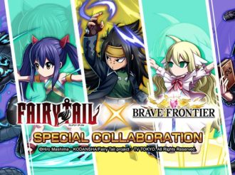 Fairy Tail Characters Help Out Again in Brave Frontier Game