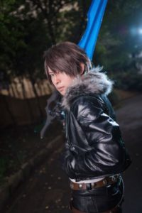 Squall Leonhart from Final Fantasy VIII | Male Cosplayer Gallery from Ikebukuro Halloween 2018 | MANGA.TOKYO