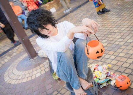 L from Death Note | Male Cosplayer Gallery from Ikebukuro Halloween 2018 | MANGA.TOKYO