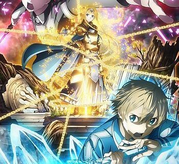 Sword Art Online–Alicization Arc Anime Visual