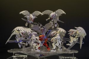 Nxedge Style figures | Bandai's figure event Tamashii Nation 2018